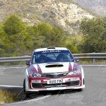 WRC Bader Al jabri - Stephen McAuley SUBARU Impreza Production