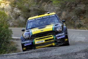 WRC Daniel Oliveira - Carlos Magalhaes MINI John Coopers Works