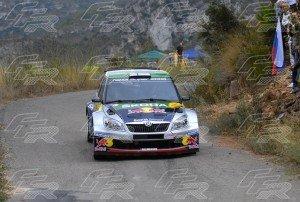 WRC Juho Hänninen - Mikko Markkula SKODA Fabia S2000