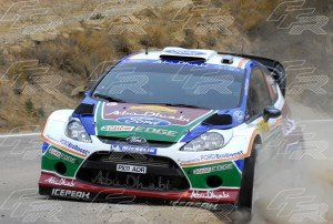 WRC Khalid Al Qassimi - Michael Orr FORD Fiesta RS WRC