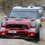 WRC Kris Meeke - Paul Nagle MINI Jhon Cooper Works WRC
