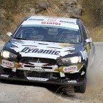WRC Michal Kosciuszko - Maciej Szczepaniak MITSUBISHI Lancer Evo X Production
