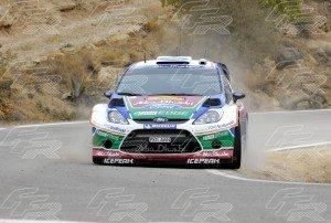 WRC Mikko Hirvonen - Jarmo Lehtinen 1 - FORD Fiesta RS WRC