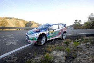 WRC Mikko Hirvonen - Jarmo Lehtinen 2 FORD Fiesta RS WRC