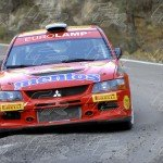 WRC Oleksandr Saliuk - Pavel Cherepin MITSUBISHI Lancer Evo IX Production JPG copia