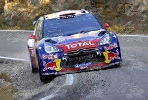 WRC Sebastien Loeb - Daniel Elena 3 CITROEN DS3 WRC
