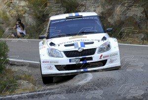 WRC Yeray Lemes - Rogelio Peñate SKODA Fabia S2000