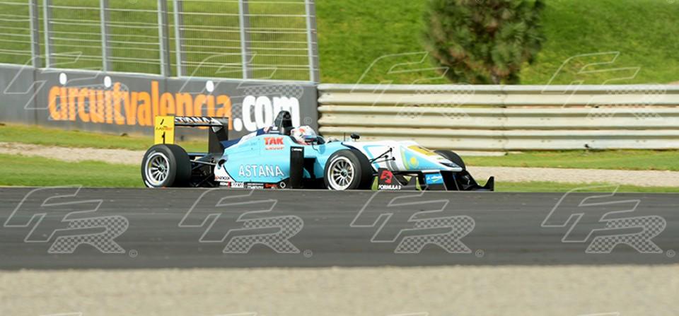 Formula 3 Euro Series, F-3 Euro Series Valencia 2012